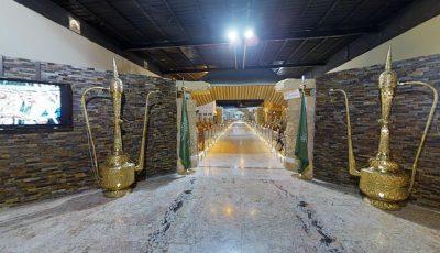 قاعة الملك عبدالعزيز الشعبية مهرجان الجنادرية 2017 3D Model