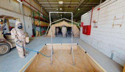 محمي: خيمة تطهير 3D Model