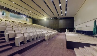 المسرح – Auditorium 3D Model